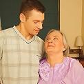This granny gets nasty with the boy next door