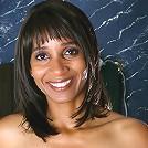Ebony MILF Sara rubs cream all over her shaven mature pussy