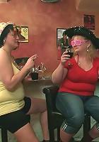 Hot fat sluts in great form at BBW party