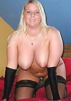 Busty Plump Stripper